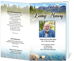 View: Sierra Funeral Program