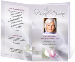 Beloved Funeral Program