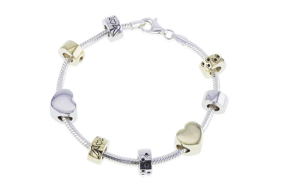 Pandora Style Cremation Jewelry