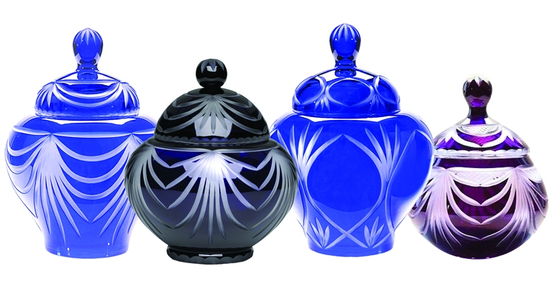 Cremation Urns / Lead Crystal Glass