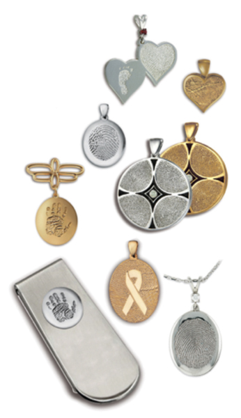 Fingerprint Jewelry Charms FAQs
