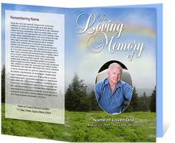 Promise Funeral Program