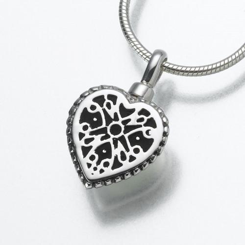 Filigree Heart in Sterling Silver