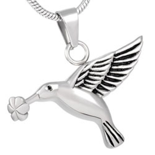 sterling necklace product pendant on hummingbird artfire ext shop silverloonjewelers silver view