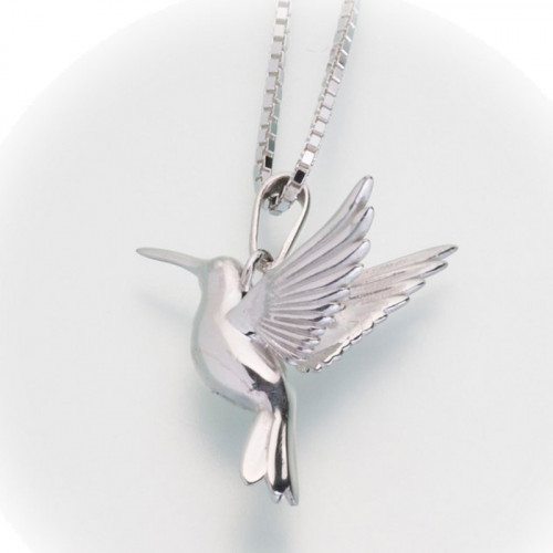 Hummingbird Cremation Pendant