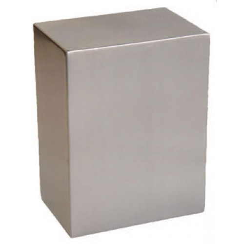 Pristine Stainless Steel Cube Urn Cremation Solutions