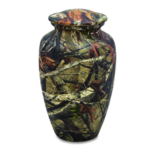 Camouflage Cremation Urn for Ashes