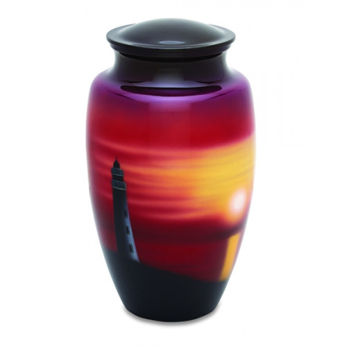 Lighthouse Cremation Urn for Ashes