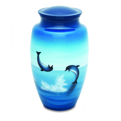 Dolphins Cremation Urn for Ashes