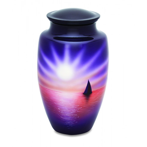 Setting Sun Cremation Urn for Ashes