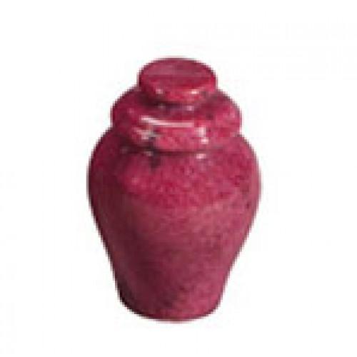 Garnet Red Keepsake Marble Urn