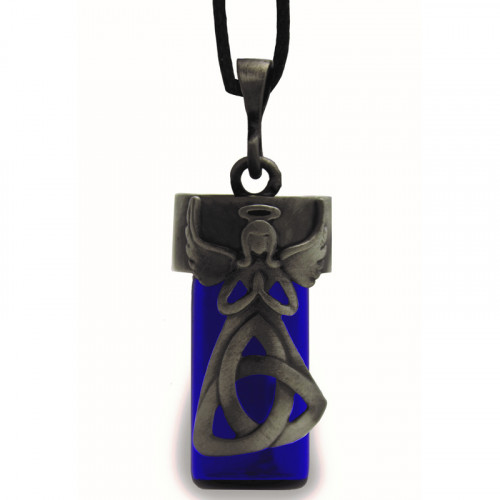 Trinity Angel Bottle Pendant