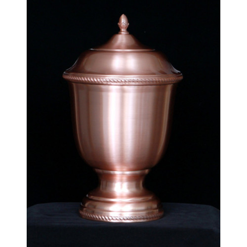 Handmade Copper Urn 704