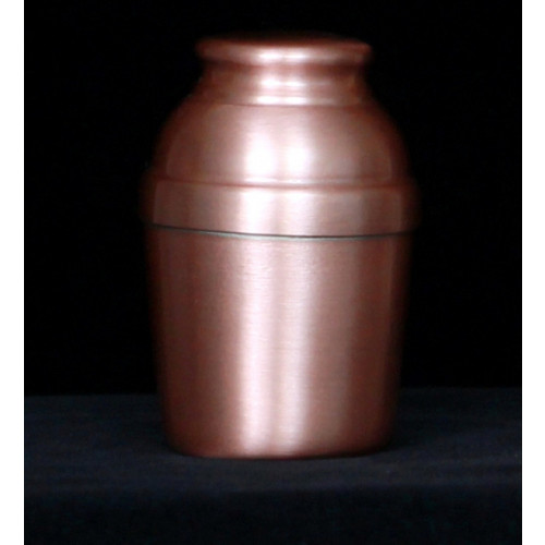 Handmade Copper Keepsake Urn 707