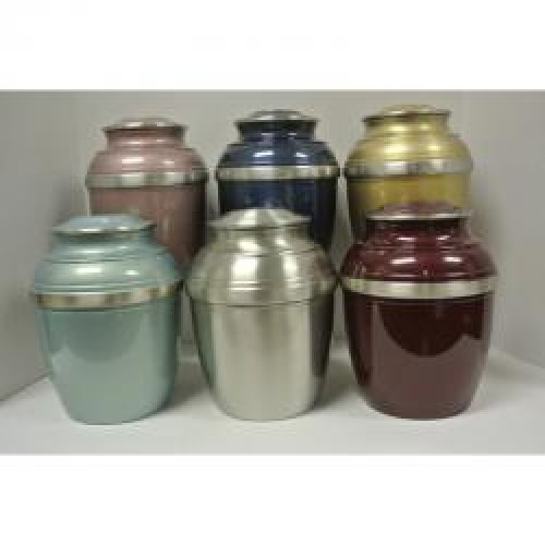 Pewter 601 Color Urn