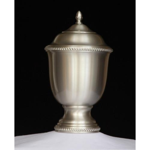 Handmade Pewter Urn 401