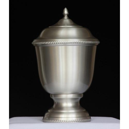 Handmade Pewter Urn 402