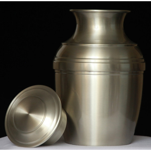 Handmade Pewter Urn 603