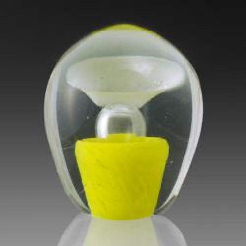Enduring Fountain Cremation Sculpture - Yellow