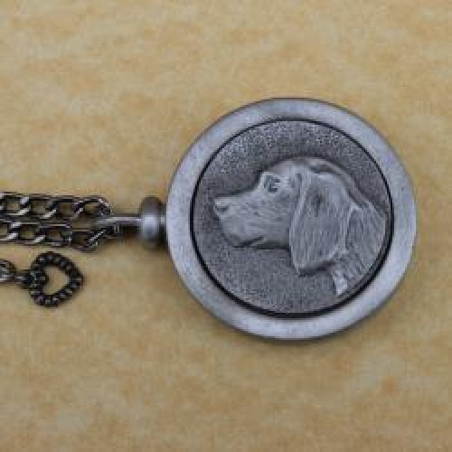 Beagle Pet Memory Cremation Medallion