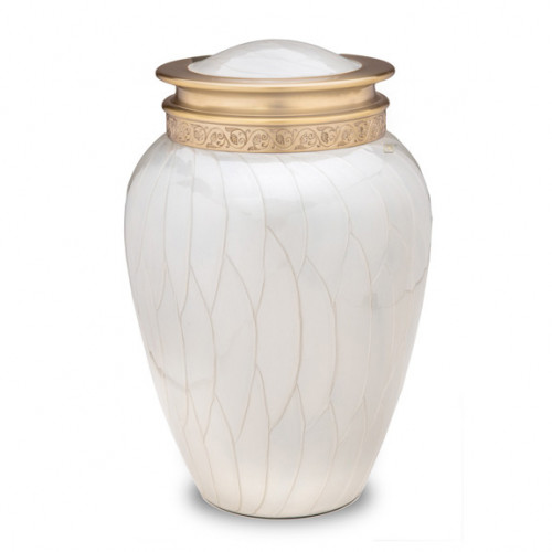 Blessing Pearl Cremation Urn for Ashes