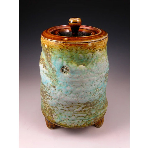 The Canyon Morning Soda Fired Ceramic Cremation Urn