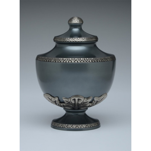 Slate Gray Chalice Cremation Urn for Ashes