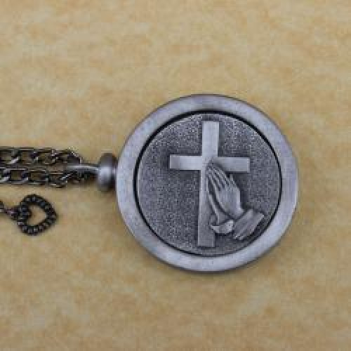 Christian Prayers Memory Cremation Medallion