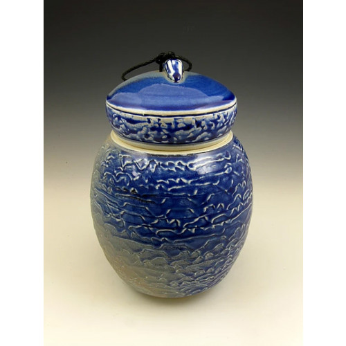 The Distant Shores Soda Fired Urn