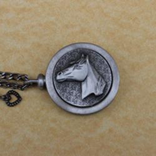 Equine Pet Memory Cremation Medallion
