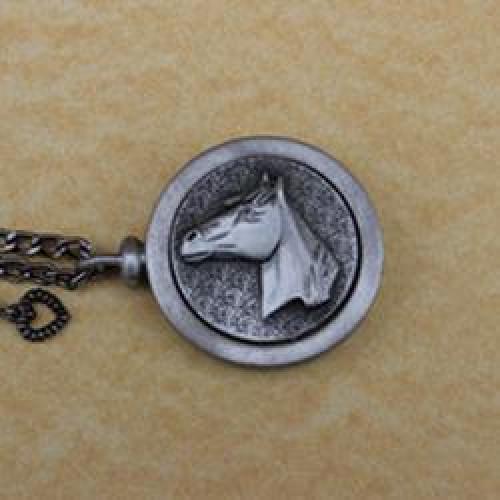 Equine Pet Memory Cremation Medallion