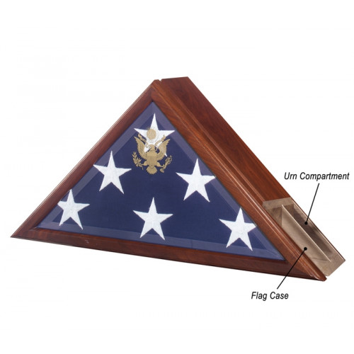 Military Eternity Flag Case Urn