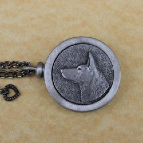 German Shepherd Pet Memory Cremation Medallion