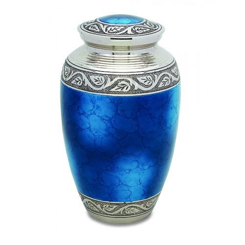 Grecian Blue Urn