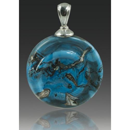 Helix Pendant - Turquoise