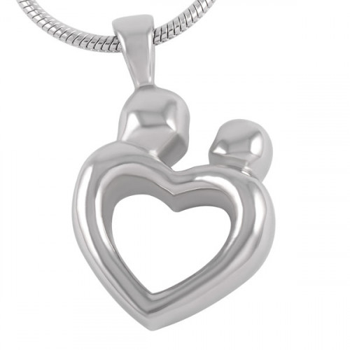 Love Heart Cremation Pendant