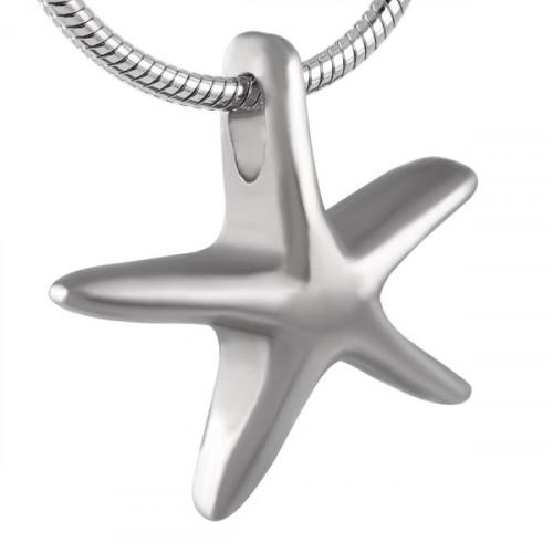 Starfish Cremation Pendant