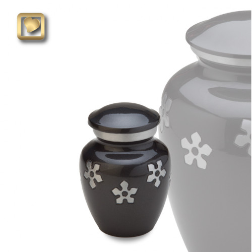 Keepsake Forget-Me-Not Cremation Urn for Ashes