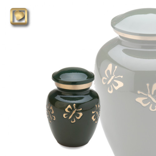 Keepsake Butterfly Quest Cremation Urn for Ashes