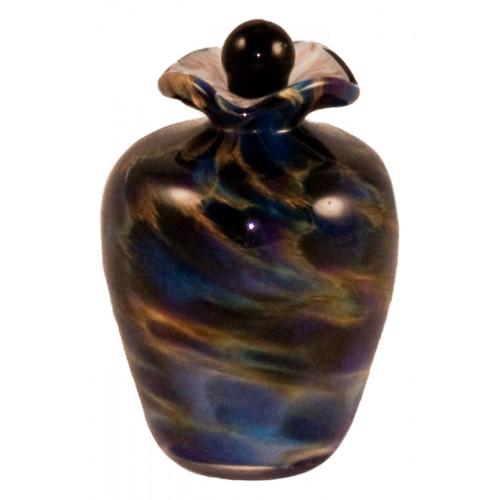 Bella Evening Hand Blown Glass Keepsake Cremation Urn