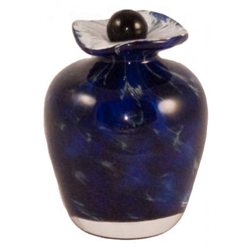 Bella Water Hand Blown Glass Keepsake Cremation Urn