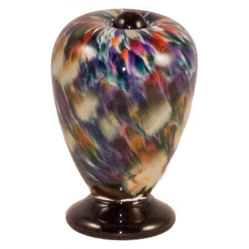 Deco Desert Hand Blown Glass Keepsake Cremation Urn