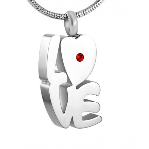 Love Sculpture Cremation Pendant