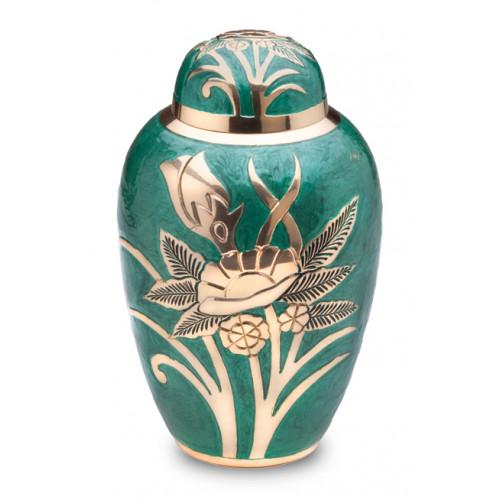 Emerald Rose Cremation Urn