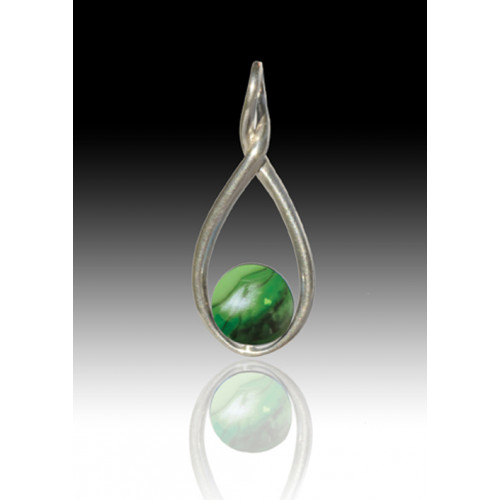 Melody Twist - Malachite - Sterling Silver