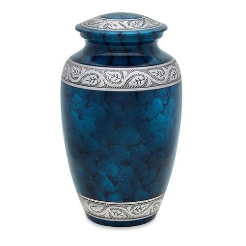 Middleton Royal Blue Cremation Urn for Ashes