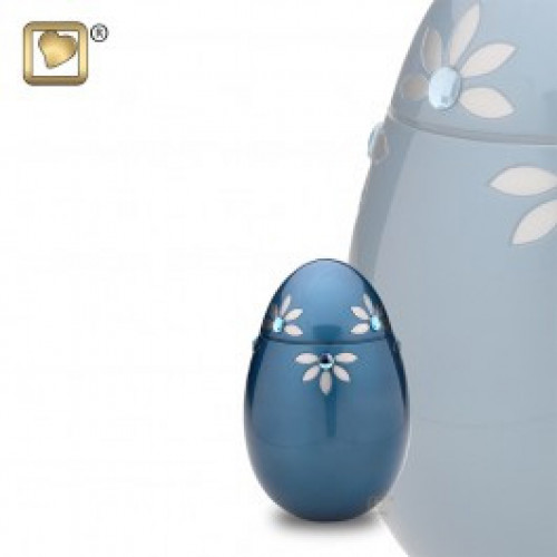 Keepsake Nirvana Azure Cremation Urn for Ashes