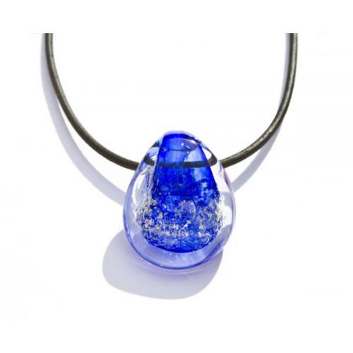 Ocean Blue Cremation Pendant