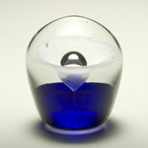 Enduring Fountain Cremation Sculpture- Blue