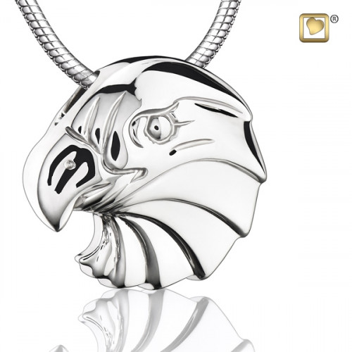 Silver Eagle Cremation Pendant